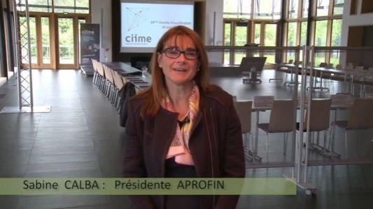A.PRO.FIN. | Sabine Calba, Présidente