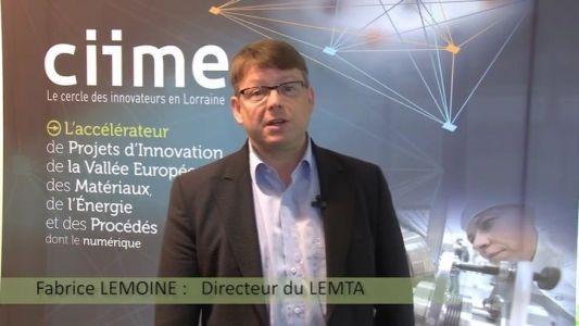 Université De Lorraine | Fabrice Lemoine, Directeur LEMTA